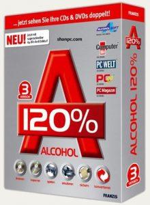 Alcohol 120% 2.1.1.611 Crack+Keygen & Serial Key Free Download {Latest}