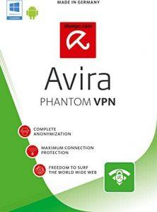 Avira Phantom VPN Pro 2.37.3.21018 Crack + Key 2021 Free Download