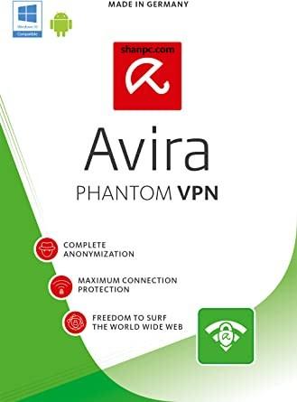 Avira Phantom VPN Pro 2.37.1.224458 Crack + Key 2021 Free Download