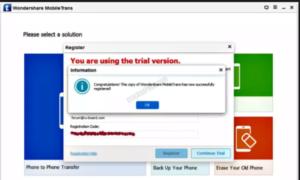 Wondershare MobileTrans 8.1.3 Crack Plus Registration Code ...