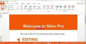 Nitro Pro 13.49.2.993 Crack + Serial Key 2021 Download (Update)