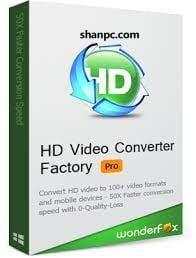 Wonderfox HD Video Converter Factory Pro 24.0 Crack + Keygen {2021}