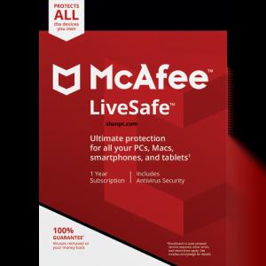McAfee LiveSafe 16.0 R22 Crack + Free Activation Key 2021 (Latest)